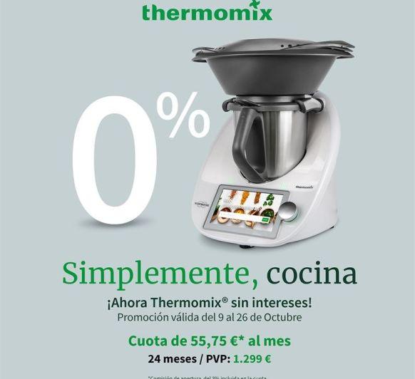 Thermomix® con el 0% de interes