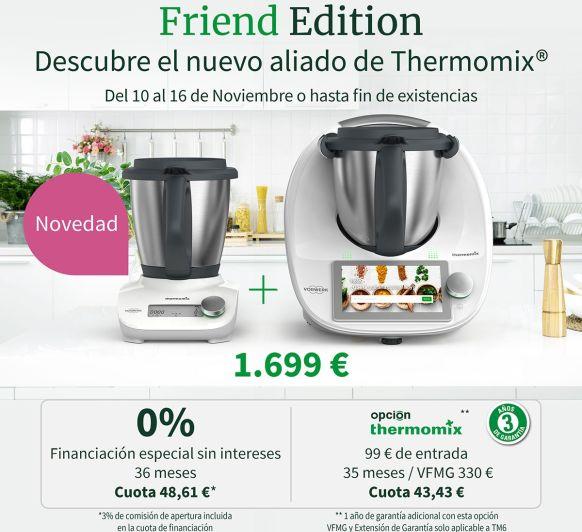 Edición Limitada: Thermomix® @ + Friend Edition