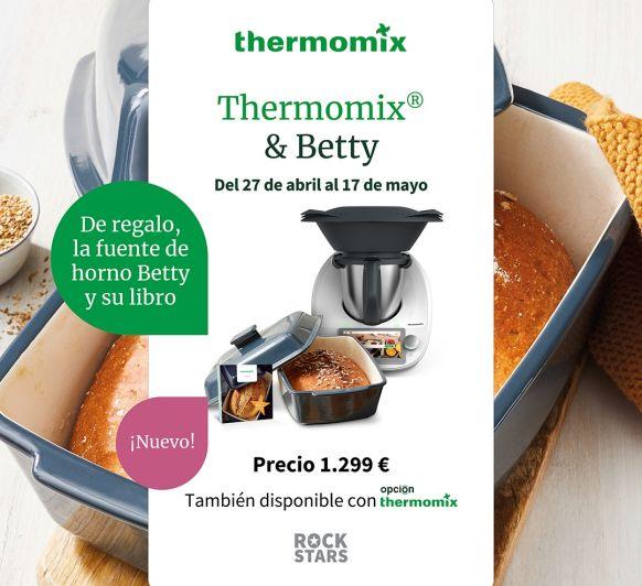 Thermomix® TM6, REGALO FUENTE BETTY Y LIBRO