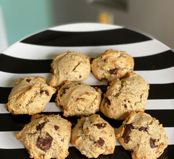 Cookies de chocolate y nuez