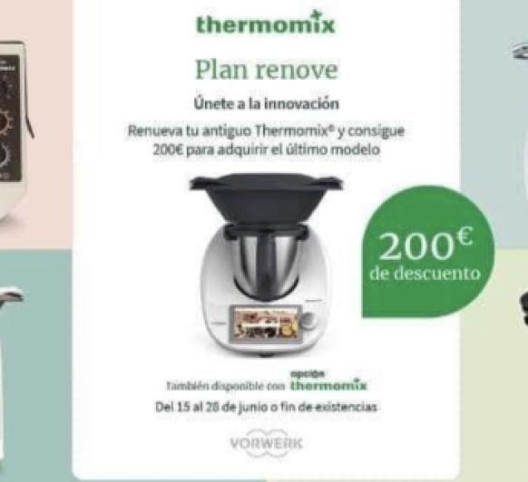 PLAN RENOVE Thermomix® . UNIDADES LIMITADAS