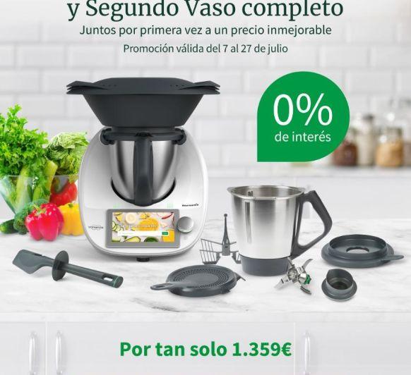 SEGUNDO VASO Y 0% INTERESES