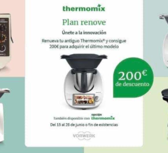 PLAN RENOVE VÁLIDO PARA CUALQUIER MODELO DE Thermomix®