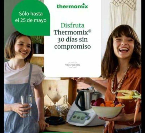 Disfruta de tu Thermomix® TM6 30 días