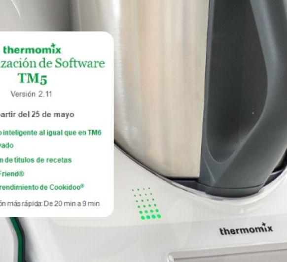 ACTUALIZACIÓN DE SOFTWARE 2.11 PARA Thermomix® TM5